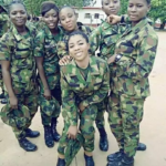Nigeria military women cry out loud