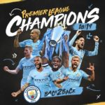 Manchester city Retains EPL Trophy back to back