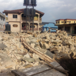 Four escape death as two-storey building collapses in Owerri