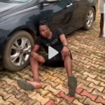 [BREAKING] watch a Yahoo Boy who was spotted Backing like a Dog