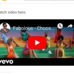[Video] Fabolous Choosy ft. Jeremih. Davido