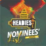 [NEWS] Headies Awards 2019 Nominees | See Full List
